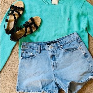 Vintage Calvin Klein high waisted shorts! Free top